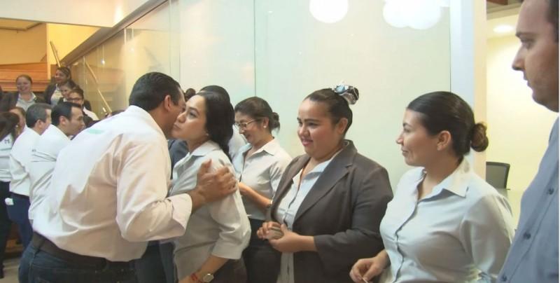 Se reúne Jesús Valdés con empleados de 40 empresas