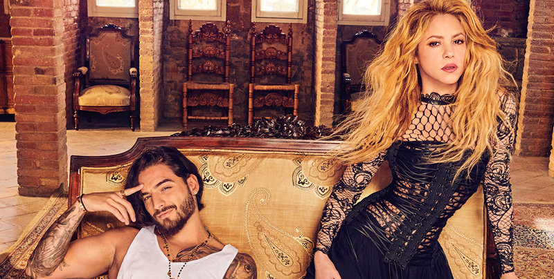 Shakira y Maluma lanzan nuevo sencillo 'Clandestino'