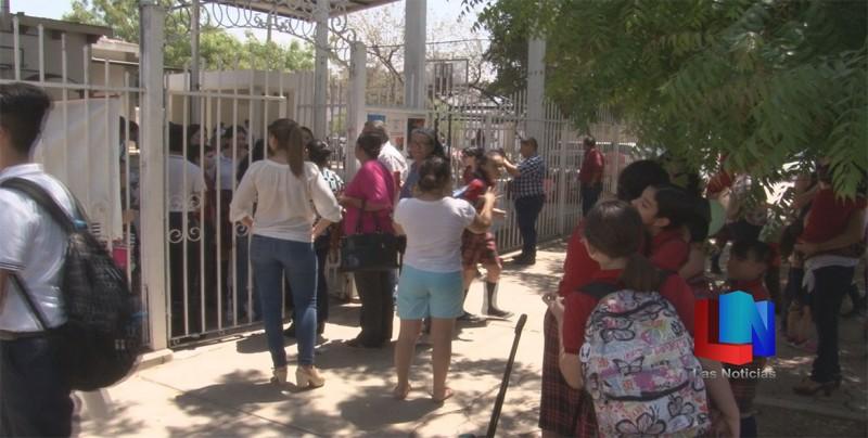 Evacuaron escuela por fallas eléctricas