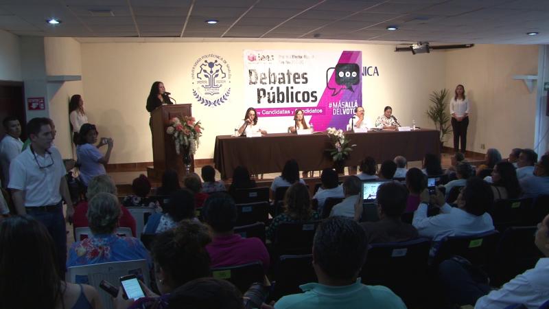 Debate entre candidatos a la diputación del 20 distrito