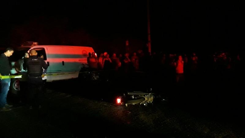 Muere motociclista tras ser atropellado