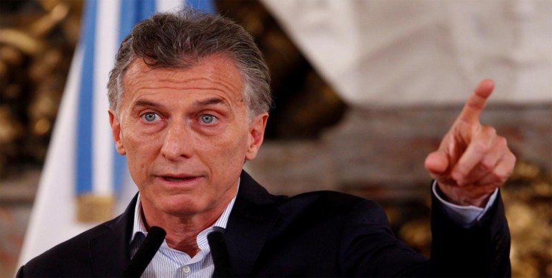 """Macri dice que quiere un Estado argentino que no sea """"socio del narcotráfico"""""""