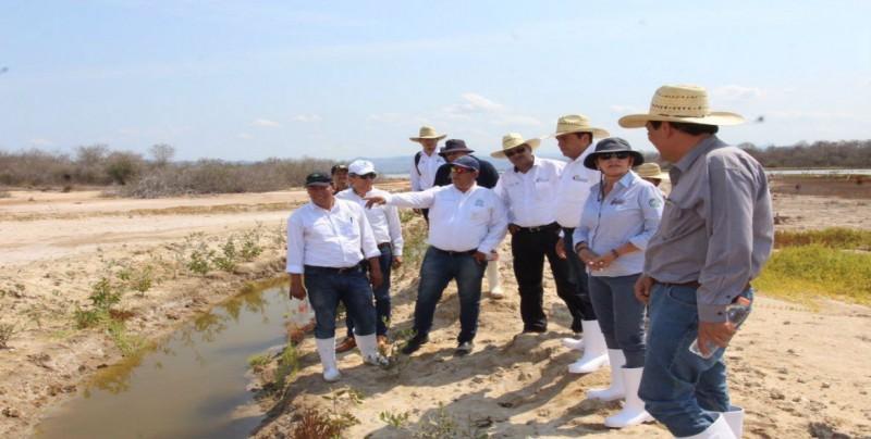 Supervisan autoridades estatales y federales restauración de marismas