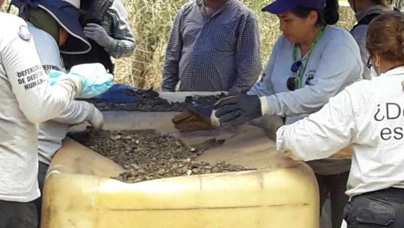 FGES: Más de 5 mil fragmentos óseos encontrados en San Pedro