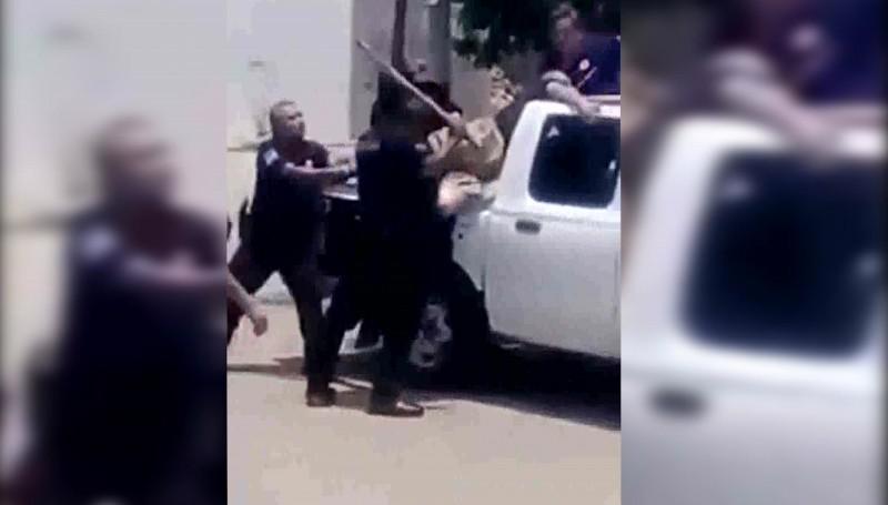 Sancionarán a policía que agredió a detenido
