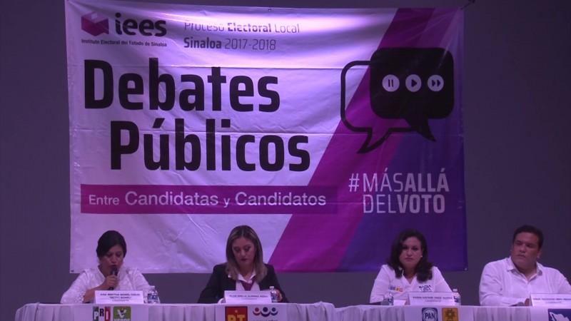 Exponen planes de trabajo candidatos del Dtto. 22