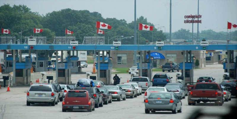 EE.UU. mejorará su estrategia fronteriza con Canadá en seguridad y comercio