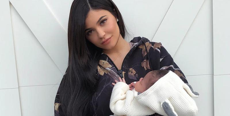 Kylie Jenner borró todas las fotos donde sale su bebé Stormi en Instagram