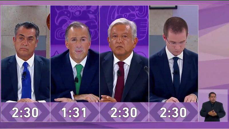 Sin novedad de propuestas el tercer debate presidencial