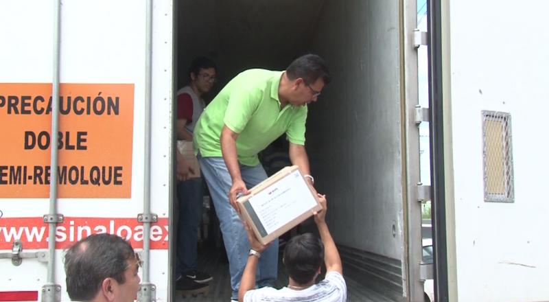 Llegan a Mazatlán las primeras boletas electorales para la Alcaldía