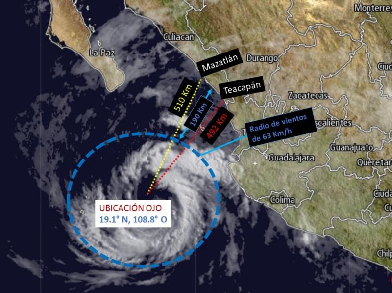 Seguirán registrándose lluvias: Meteorológico