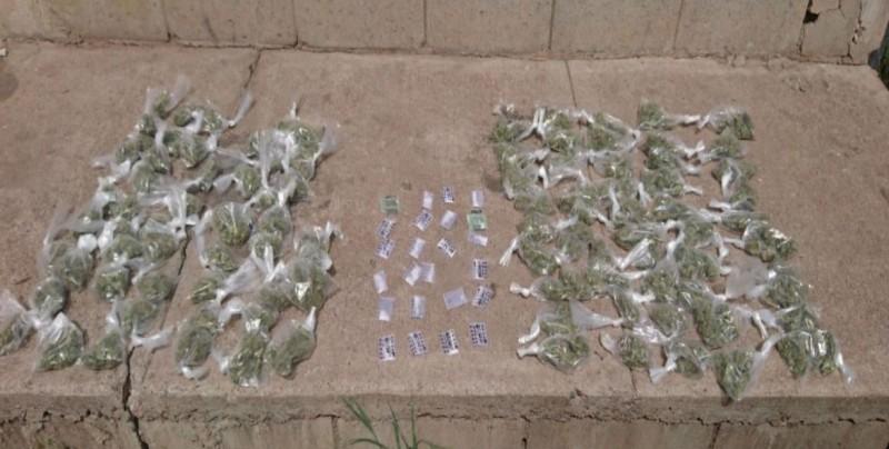 Aseguran 104 bolsas de mariguana en Costas del Sol