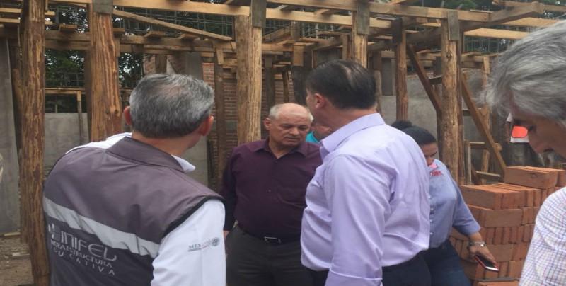 Realizan recorrido de supervisión en Primaria Álvaro Obregón