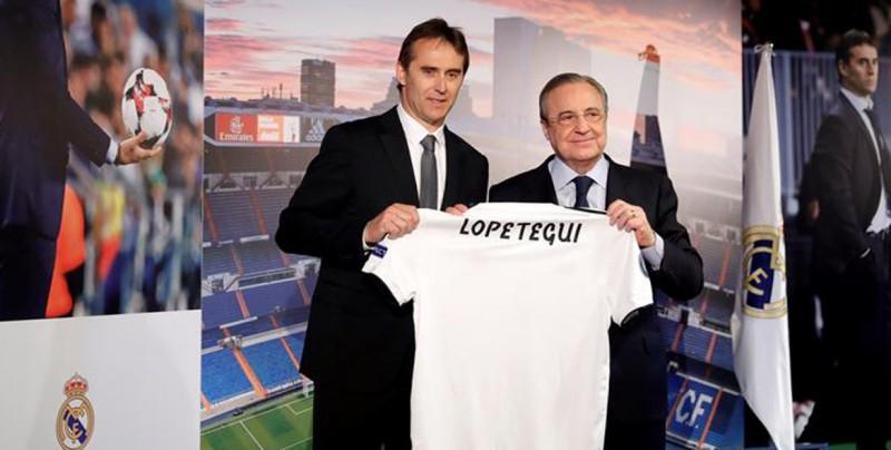 El Real Madrid presenta a su nuevo DT, Julen Lopetegui