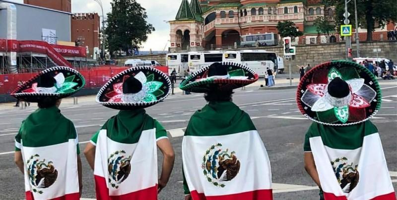 #Video En el día uno del Mundial la afición mexicana toma las calles