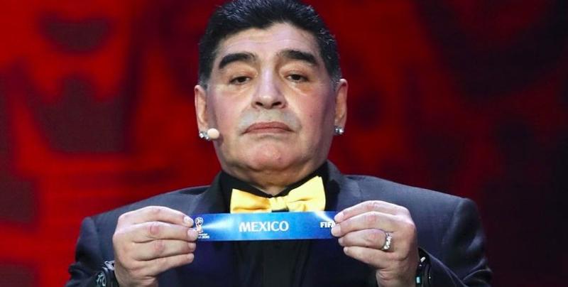 Maradona asegura que México no merece ser sede del Mundial 2026