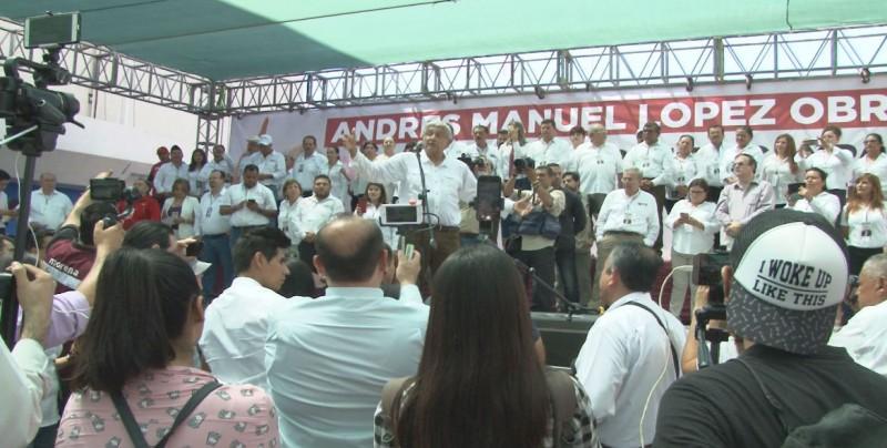 Megalópolis: Reitera López Obrador que propondría terna para elegir fiscal general