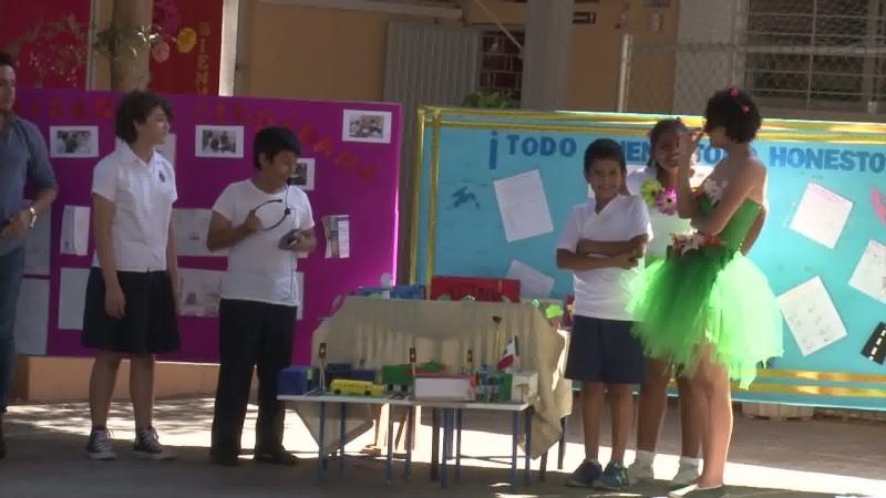 Presentan proyectos finales alumnos de la Prim. Benito Juárez