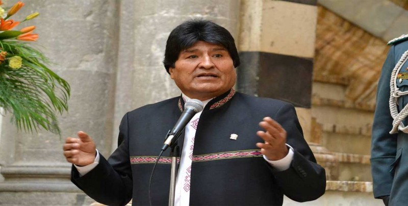 Evo Morales pide ayuda a la FAO para formar a jóvenes bolivianos en España