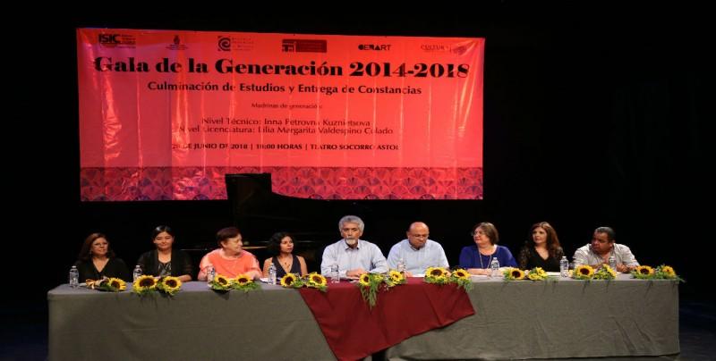 Egresa Generación de la Escuela Superior de Música del ISIC