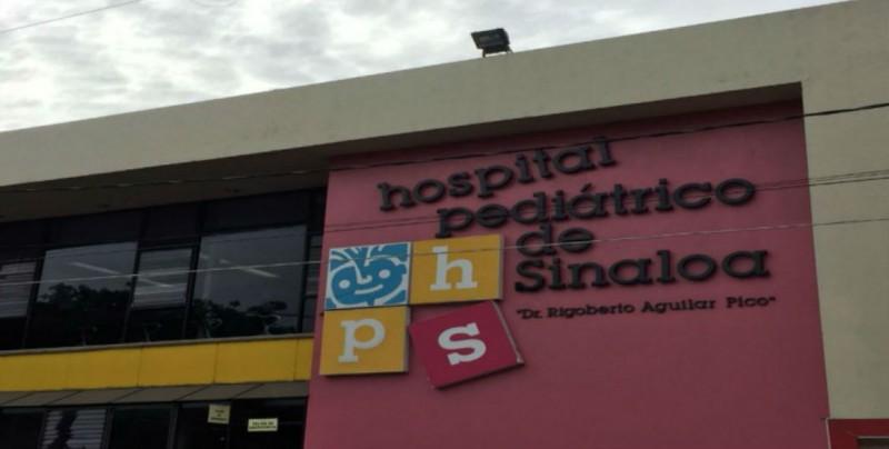 Hospital Pediátrico de Sinaloa salvaguarda integridad de pacientes