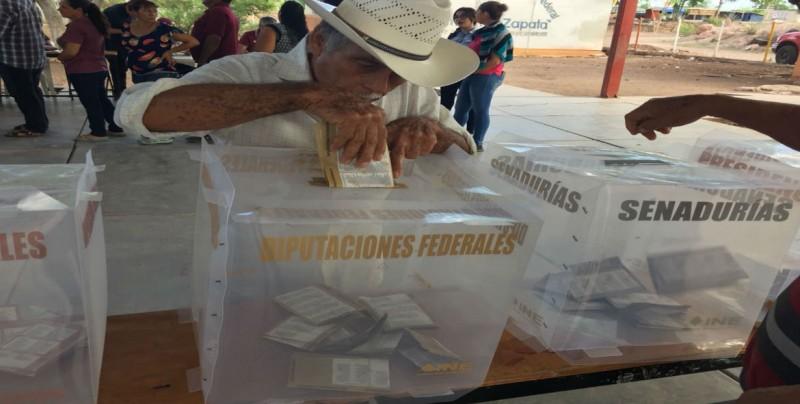 Se dan cita a temprana hora en la Región del Évora para el proceso electoral
