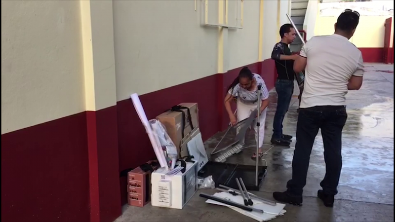 Instalan casillas electorales en Mazatlán
