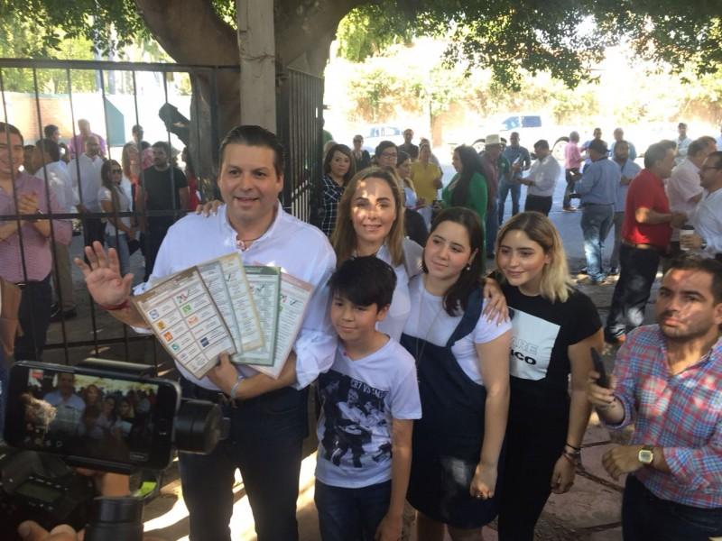 Mario Zamora respetará del resultado final de la elección