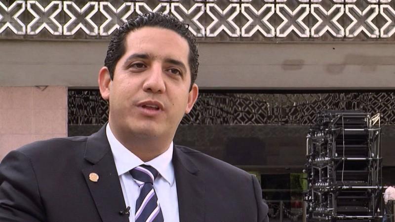 Jesús Valdés Palazuelos emite su voto