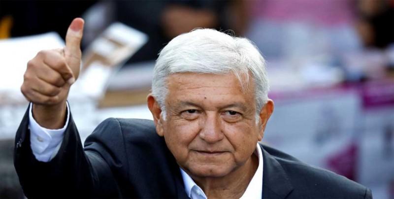 Conteo rápido del INE da victoria a Andrés Manuel López Obrador