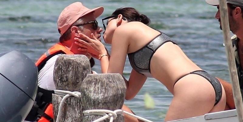 Eiza Gonzalez y Josh Duhamel de romance en Cancún
