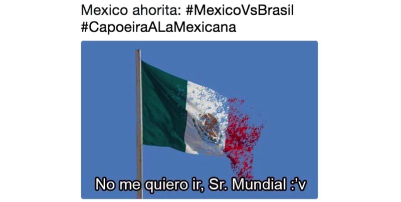 Los memes de la eliminación de México en el Mundial Rusia 2018