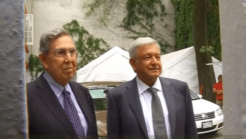 Cuauhtémoc Cárdenas se reúne con López Obrador