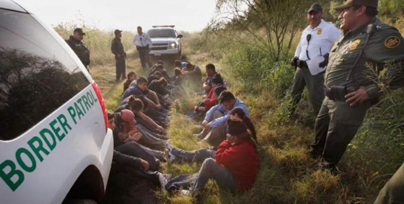 Detienen más de 70 inmigrantes escondidos tras cruzar la frontera