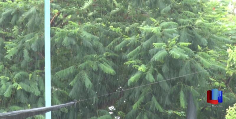 Llueve en la región del Mayo