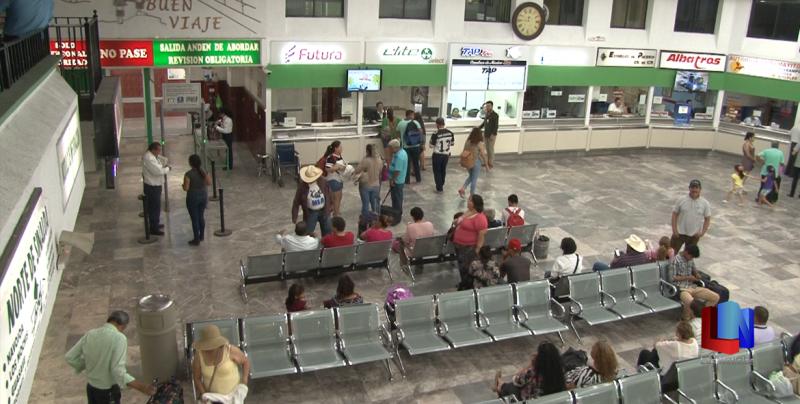 Viajan diariamente 2,000 personas