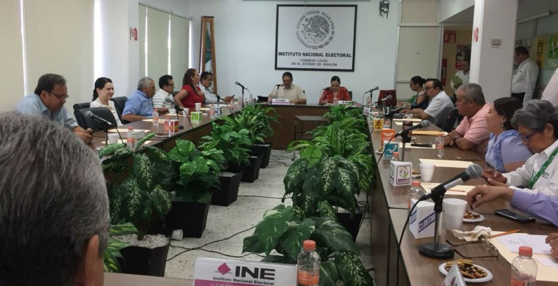 Junta Local del INE Sinaloa revisará actas