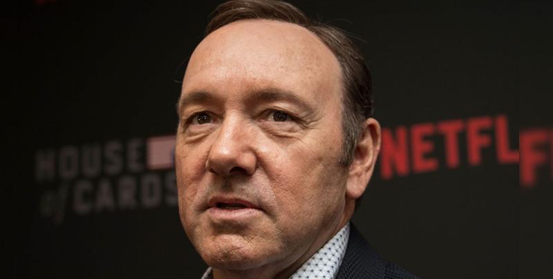 Kevin Spacey es acusado por otros tres casos más de abuso sexual