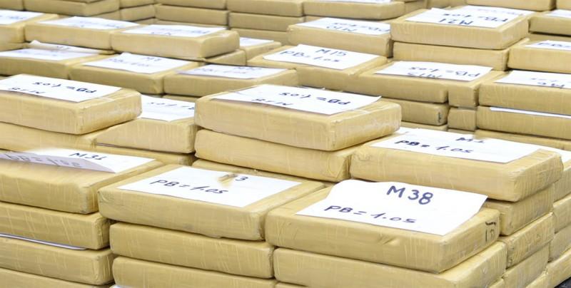 Incautan en Brasil 839 kilos de cocaína que iban a ser enviados a España