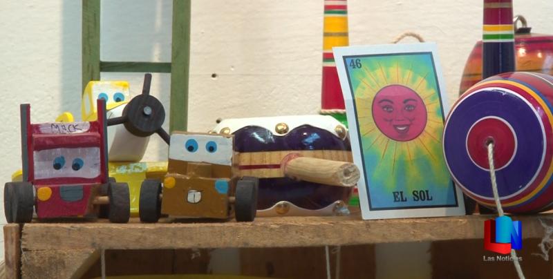 Exponen juguetes tradicionales