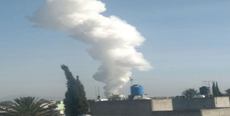 Explosión por pirotecnia en Tultepec, Edomex, deja muertos