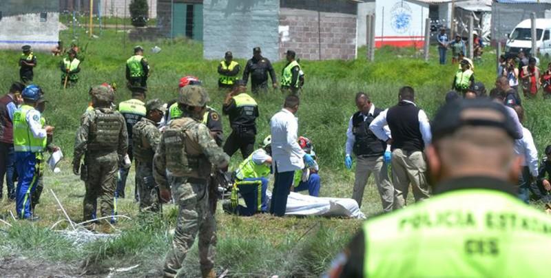 Al menos 19 muertos y 40 heridos en explosión de polvorín en Tultepec