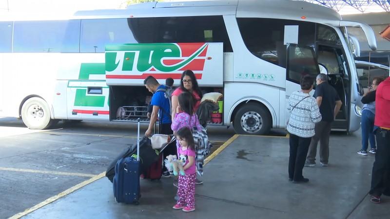 Centrales de autobuses preparados para corridas extras por periodo vacacional