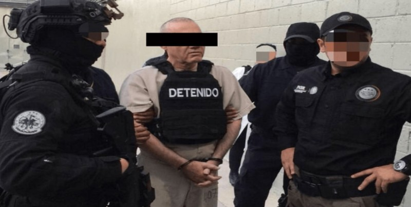 """Extraditan a Dámaso López a EU como testigo contra """"El Chapo"""""""