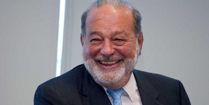 Carlos Slim felicita a López Obrador por su victoria en México