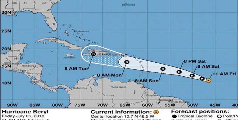 Autoridades de Puerto Rico no dejan espacio para improvisación ante huracán Beryl