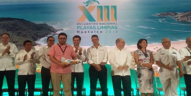 """Playas de Sinaloa obtienen distintivo de """"Playa Limpia"""""""