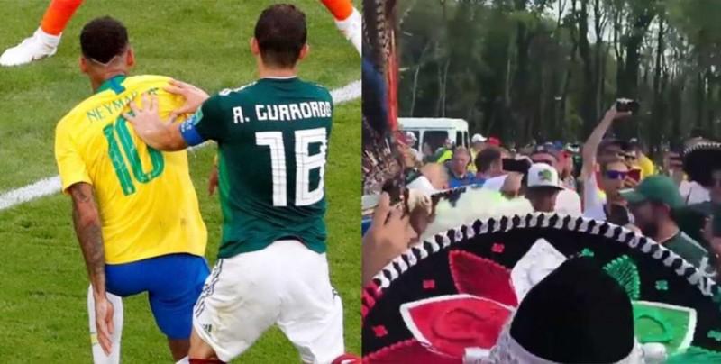 #Video El mensaje de Andrés Guardado y el canto dedicado a Neymar