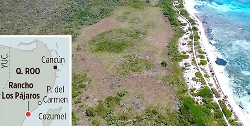SEDATU vende muy barato un terreno frente al mar en Cancún-Tulum