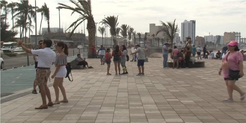 Se vive la llegada de más turismo en Mazatlán